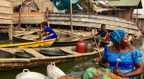 Betty Abah in Makoko