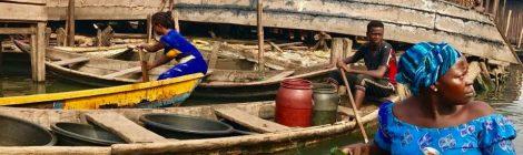 Betty Abah in Makoko